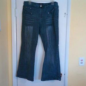 Denim - Crest jeans boot cut size 19/20